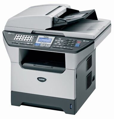 Brother MFC-8860DN All-In-One Laser Printer Scanner Copier Fax - Toner Bundle