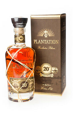 Plantation Barbados Rhum Extra Old 20th Anniversary 40% vol 0,7L | Exklusiv Rum