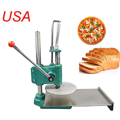 Household Pizza Dough Pastry Manual Press Machine Roller Sheeter Pasta FDA ++