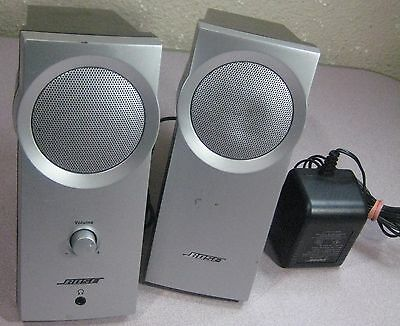 Pair of Bose Companion 2 Series II Multimedia Computer Speakers