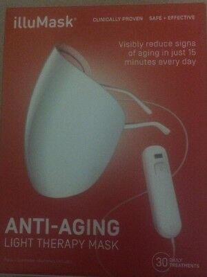 illuMask Wrinkle Anti Aging Light Therapy Mask - Brand New In Box!