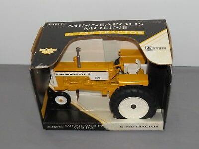 Vintage 1:16 Ertl Minneapolis Moline G-750 Narrow Front Toy Tractor New in Box