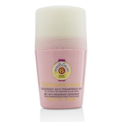 Roger & Gallet Gingembre Rouge 48H Anti Perspirant Deodorant Roll On 50ml Womens