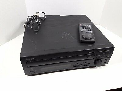 ProScan LaserDisc CD player PSLD41 with remote control 1991 made Japan working