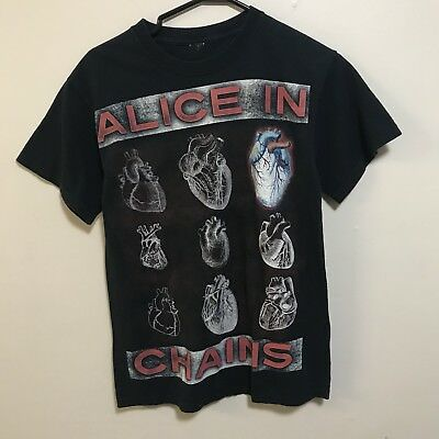 Vintage Original 90's ALICE IN CHAINS Heart Tshirt