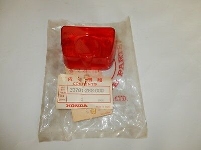 Rear Light Lens TailLightLens Honda CB72 CB77 CS90 CB450K0 NEW RARE NOS