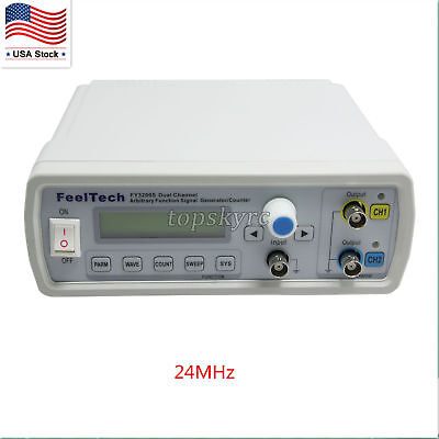 NEW and SEALED FeelTech FY3200S Arbitrary Waveform Frequency Meter -  Feel Tech