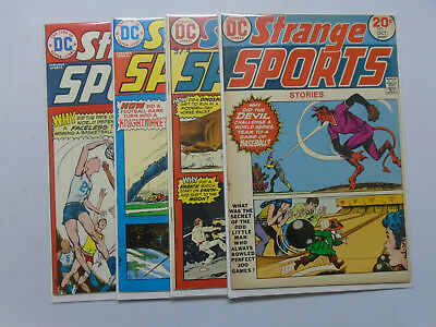 Strange Sports Stories, Set:1-4, Average 7.0 (1973)