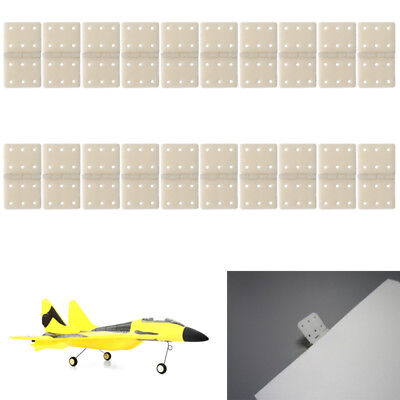 20pcs Hinge Linker Plastic Medium for RC Airplane Aircraft Helicopter Quadcopter