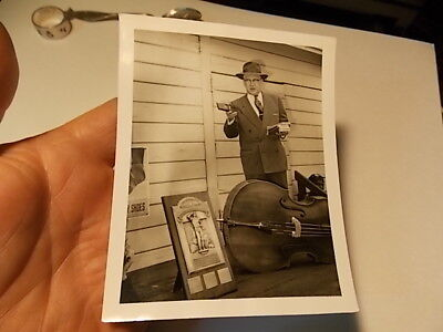 Vint Snapshot Photo,'Salesman W American Brake & Shoe Safety Award Trophy Plaque