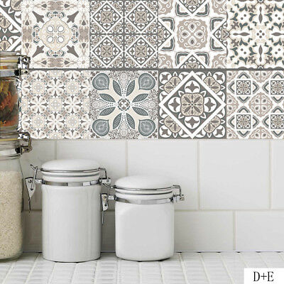 20cm*1m Tile Wall Stickers Self Adhesive Mosaic Decal Vinyl Room Kitchen Decor