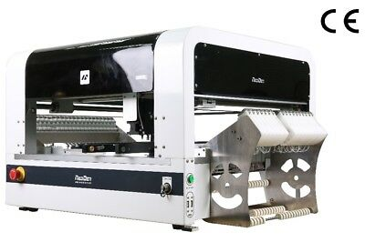 with 18 feeders, NeoDen4 with vision, desktop pick and place machine, SMT PCBA-L