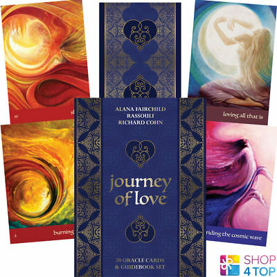 Journey Of Love Oracle Deck Cards Alana Fairchild Esoteric Telling Blue Angel