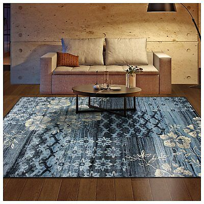 Superior Kennicot Collection Area Rug, 10mm Pile Height with Jute Backing, and -