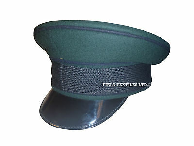 Royal Green Jackets Peaked Cap - Used - British Army - 56Cm - Sp4268