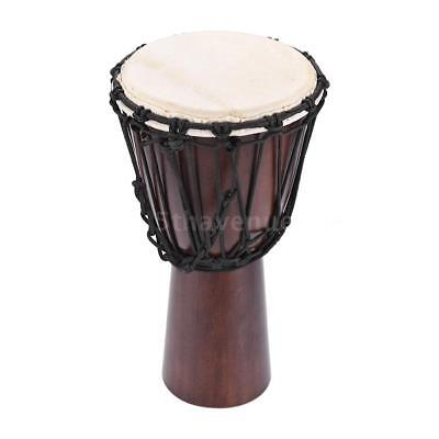 Professional African Drum Schaffell Material 8-inch Classic African Drum P8X8