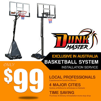 Dunk Master Basketball System/Ring/Hoop/ Installation Service S024 S025S SG-2
