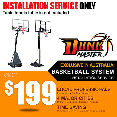 Dunk Master Basketball System/Ring/Hoop/ Installation Service S024 S025S SG-6