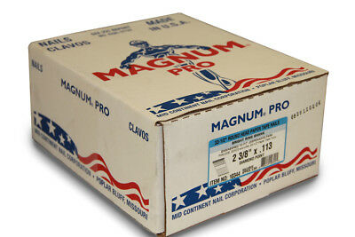 """Magnum Fasteners 10344 2-3/8"""" x .113"""" Bright Ring Shank Nails (5000 ct)"""