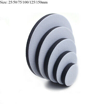 3'' 4'' 5'' Soft Cushion Interface Pad For Hook & Loop Sanding Disc Backing Pads