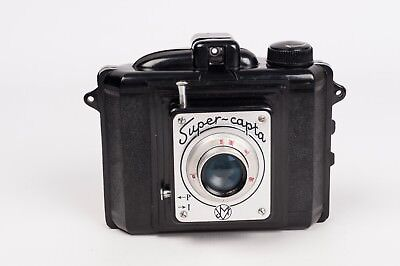 Super-Capta - Bakelite camera made in Spain READ DESCRIPTION