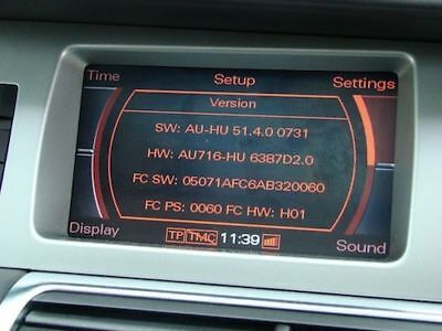 Fully working and tested Audi MMI 2G High 5570 Update Disks (All 3)