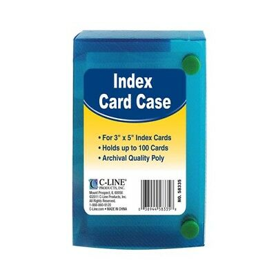 C-Line Index Card Cases  - 3X5""