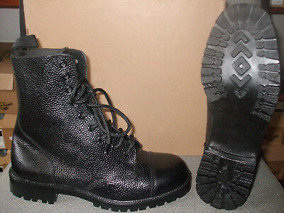 29057a4975d MENS GRAFTERS BLACK Grained 10 Eyelet Cadet Boots. Size 7