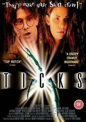 TICKS DVD Rosalind Allen Ami Dolenz? Tony Randel Original UK Rele New Sealed R2