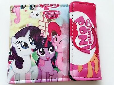 Girl Children My Little Pony Clip Wallet Card Purse bag birthday Easter Gift