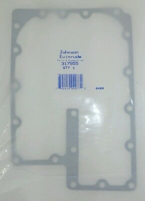 (Nos) New Omc Johnson Evinrude Outboard Exhaust Manifold Gasket (317955)