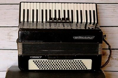 Accordion Stella Weltmeister made in Germany Vintage 120 bass
