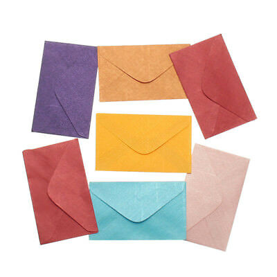 Small Colored Paper Envelopes Wedding Birthday Party Invitation Gift Supplies