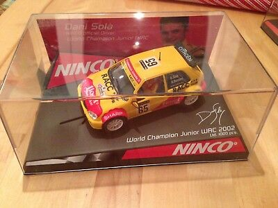 "Ninco Ltd Edition Citroen Saxo ""WORLD CHAMPION"" DANI SOLA "",  Nr 50292, selten"