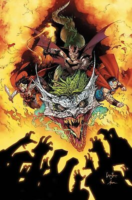 DARK NIGHTS METAL 6 1st PRINT FOIL STAMPED  BATMAN WHO LAUGHS PRE-SALE 3/28 NM+