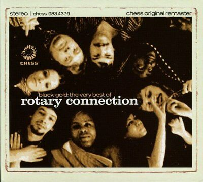 Rotary Connection - Black Gold: The Very Best Of Rotary Connection [CD]