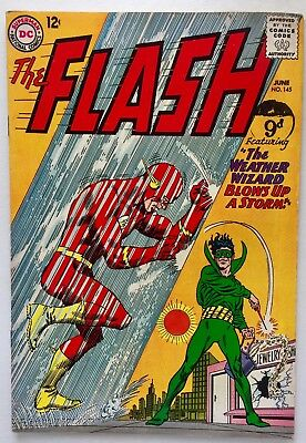 The Flash #145 (1964) Weather Wizard. Grade 6.0