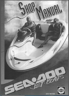 1995 Sea-Doo Sportster Speedster Explorer Jet Boat Service Repair Shop Manual CD