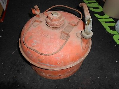 Vintage Eagle Fuel Gas Can