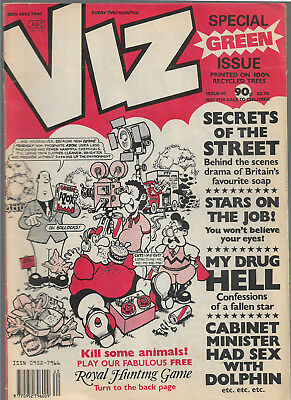 "British adult comic ""VIZ"" issue 40"