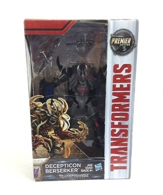 Transformers: The Last Knight Premier Edition Decepticon Berserker - free ship