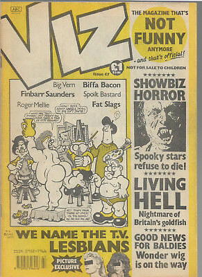 "British adult comic ""VIZ"" issue 47"