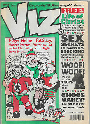"British adult comic ""VIZ"" issue 51"