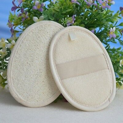 Soft Fresh Natural Loofah Loof Sponge Shower Spa Body Scrubber