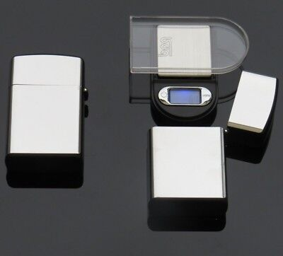 Petrol Lighter Disguise Digital Pocket Scales 500g Accurate to 0.1g LCD Display
