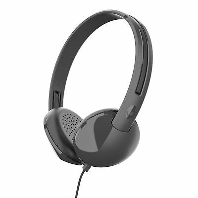 Skullcandy Stim On-Ear Headphones with Remote and Microphone in Black.
