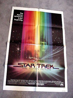 """STAR TREK The Motion Picture 1979 Original 27 x 41"""" One Sheet Movie Poster"""