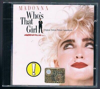 Madonna Who's That Girl Ost  Cd  Sigillato!!!