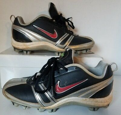 Nike Athletic Speedlax Lacrosse Shoes Cleats 334097 011 Women Size 8