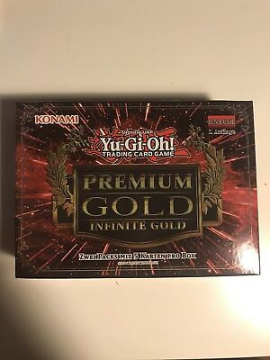 YU-GI-OH Premium Gold 3 Infinite Gold -  10 Holos! Booster Box - Deutsch